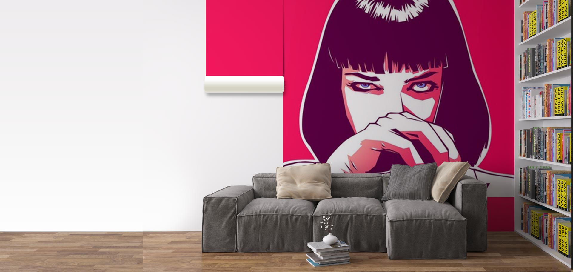 poster adhesif sur mesure maison design. Black Bedroom Furniture Sets. Home Design Ideas
